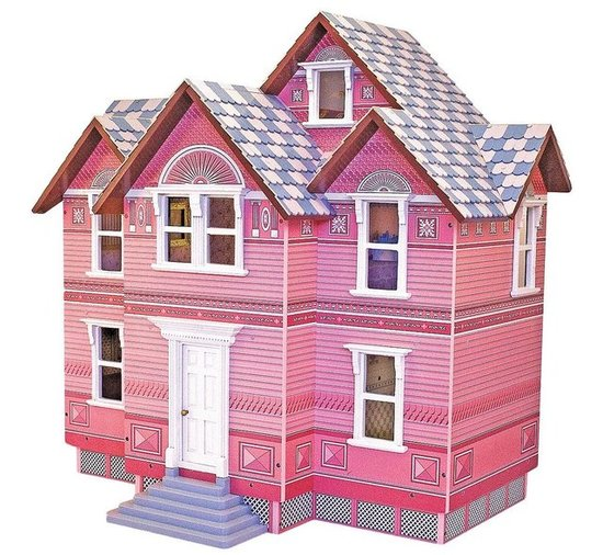 Melissa &amp; Doug Heirloom Victorian Doll House ($117)