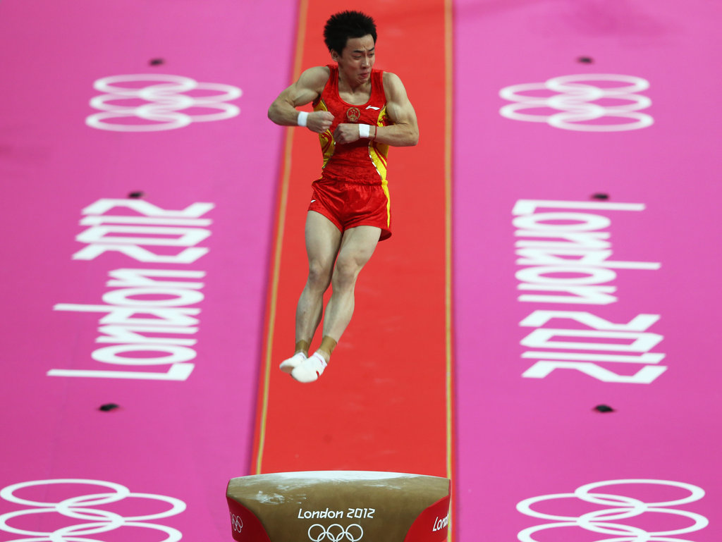 Will the Chinese once again dominate the men's gymnastics events?