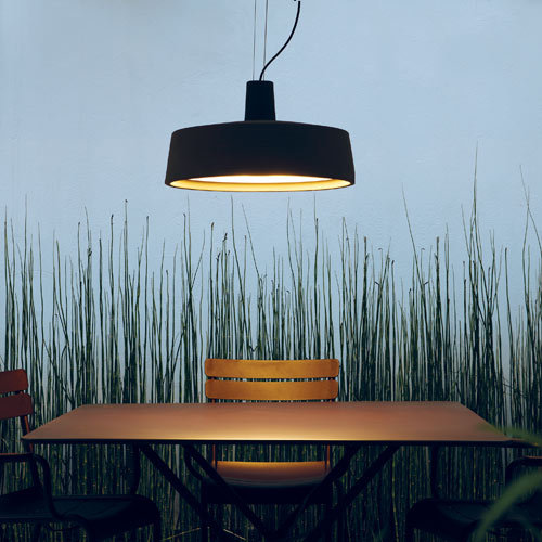 The Soho Outdoor Pendant Light ($1,035, originally $1,380) was designed by Joan Gaspar and is constructed from rotary-moulded polyethylene.