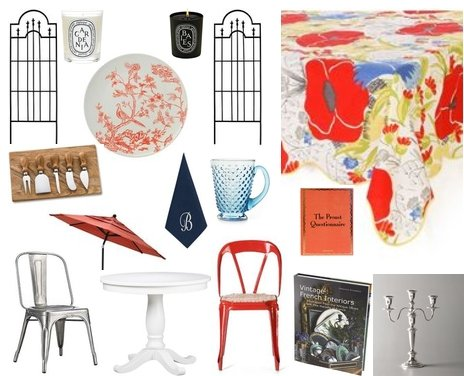 Get the Look: Bastille Day Garden Party