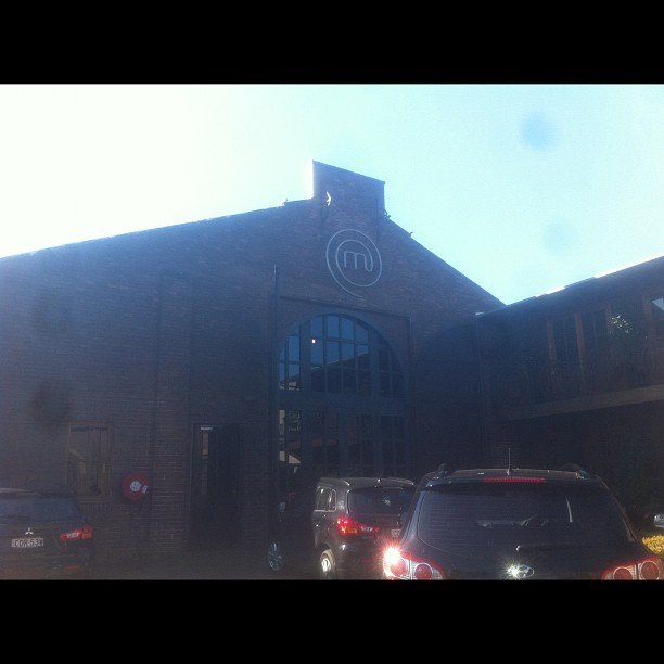 Andy snapped the iconic MasterChef kitchen. Source: Instagram user andy44