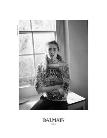 Balmain Fall 2012 Ad Campaign