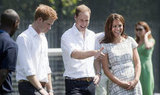 Kate Middleton, Prince William, and Prince Harry launched the Coach Core program together in London before the Olympics.