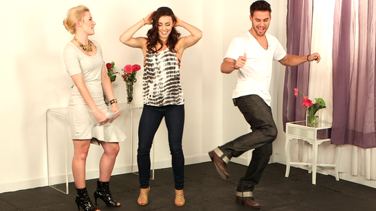 Step Up Revolution Stars Show Off Dance Movie Trivia and '90s Dance Moves!