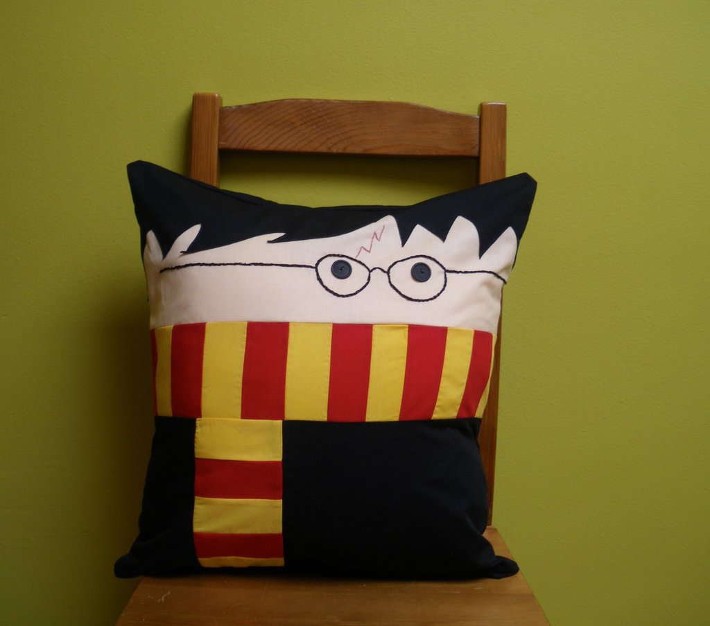 Boy Wizard Pillow