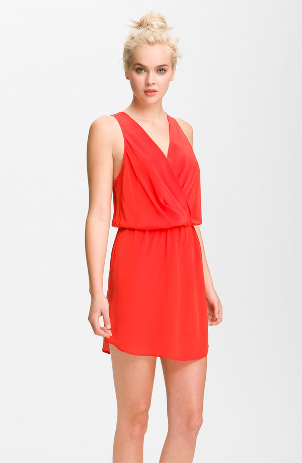 Rompers are the easiest way to look festival ready; this one comes in a bold shade of red. Rory Beca Maya Silk Dress ($208)