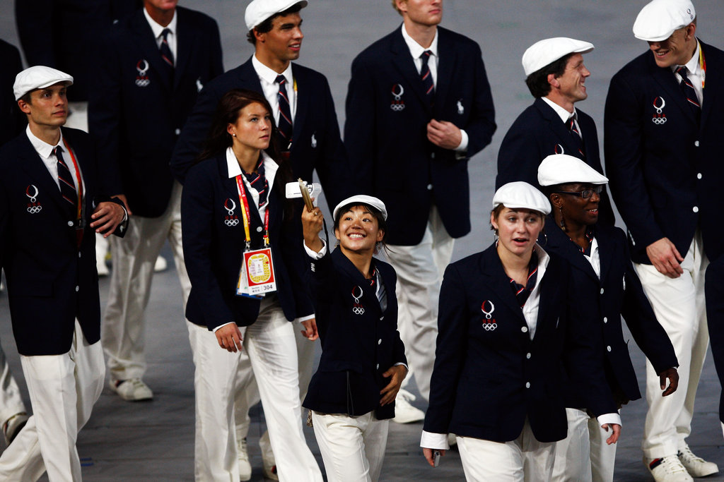 Team USA at the 2008 Olympics