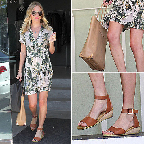 Kate Bosworth's Sweet Tropical-Print Dress Is an H&M Sale Find