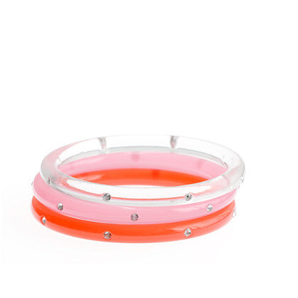 J.Crew Girls' Diamond Bangle Three-Pack ($16)