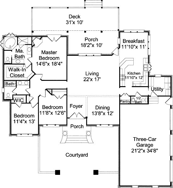 Houseplan Home Design 2015