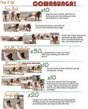 Cowabunga Workout with Tone It Up!