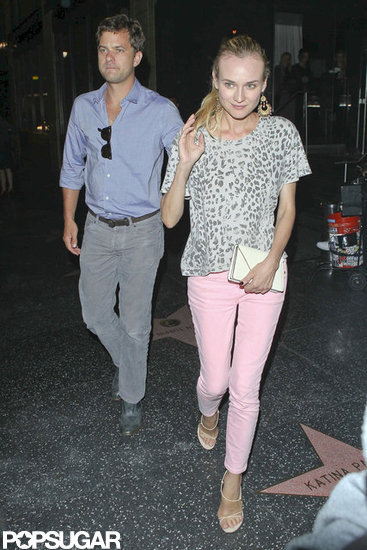 Joshua Jackson and Diane Kruger Do Dinner in LA