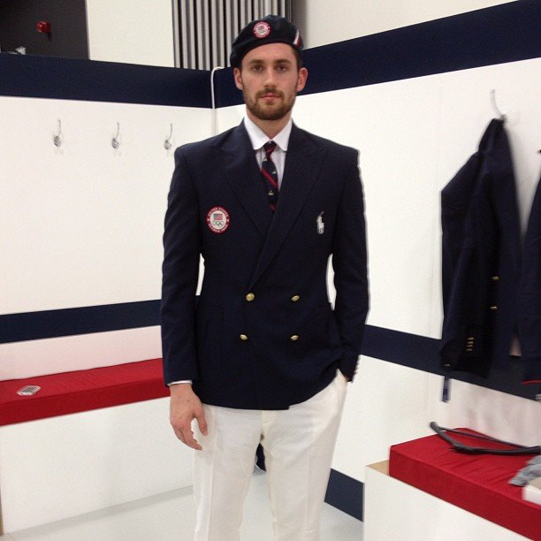Kevin Love channeled his inner Justin Timberlake for a photo.  Source: Instagram user kevinlove