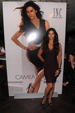 Camila Alves wore a tight dress for her event in NYC.