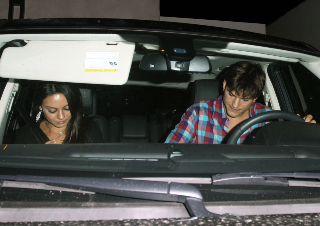 Inside Ashton Kutcher and Mila Kunis's Latest Night Out