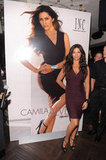 Camila Alves had a launch party as INC's brand ambassador.