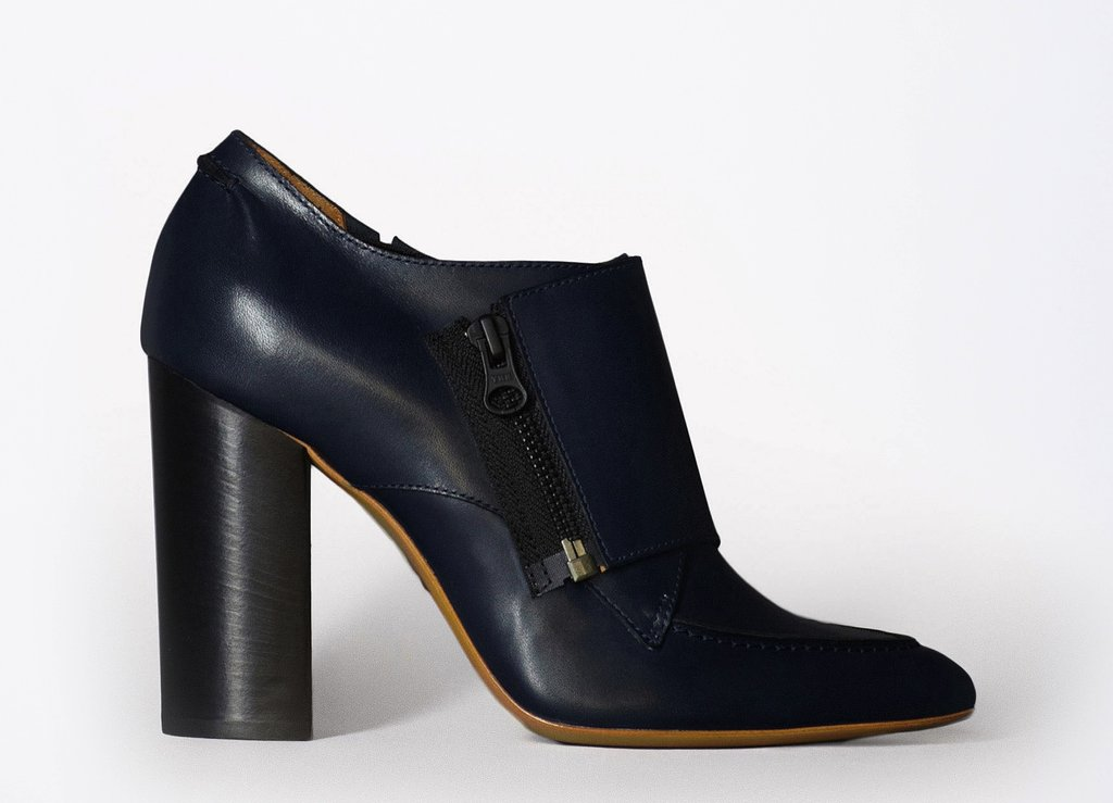 We love our ankle boots to toe the line between classic and quirky — Phillip Lim's superstructured ankle boot marries the two ideals perfectly. 3.1 Phillip Lim Delia Zip Boot ($650)