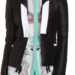 . . . like this superb black and white Prabal Gurung tuxedo jacket.