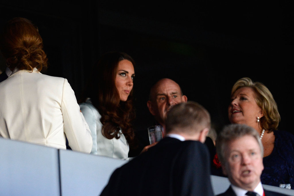 Kate Middleton attended the opening ceremony.