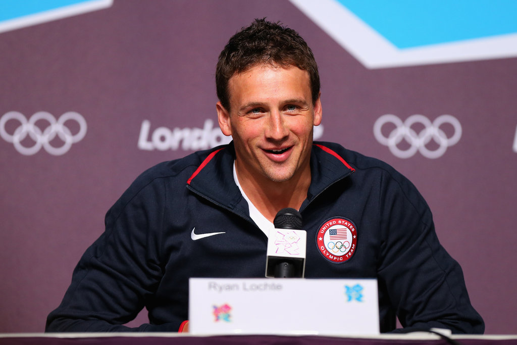 Ryan spoke during a press conference in London on the day before the 2012 Olympics.