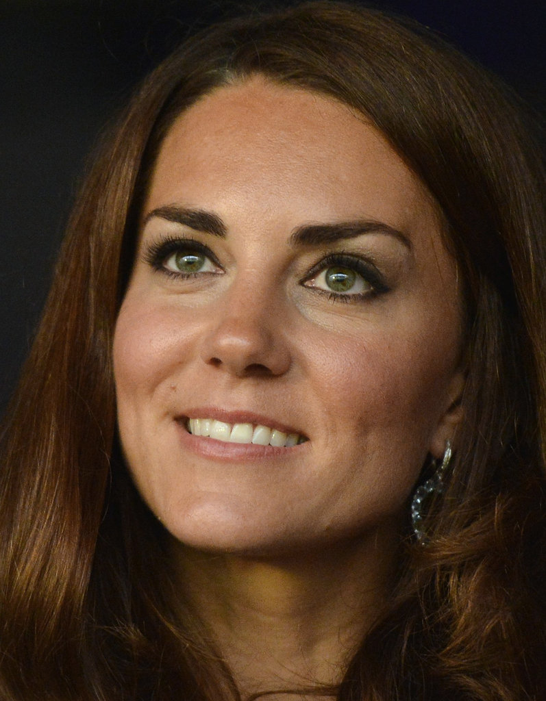 Kate was looking great during the Olympic event.