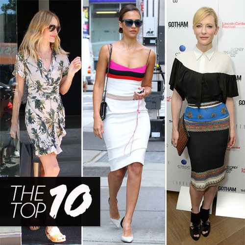 Top Ten Best Dressed Celebrities of the Week Feat. Kate Bosworth, Kate Middleton, Cate Blanchett & More