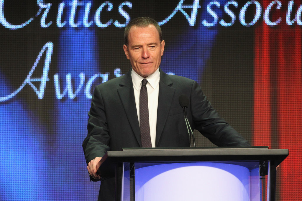 Bryan Cranston hosted the Television Critics Association Awards in LA.