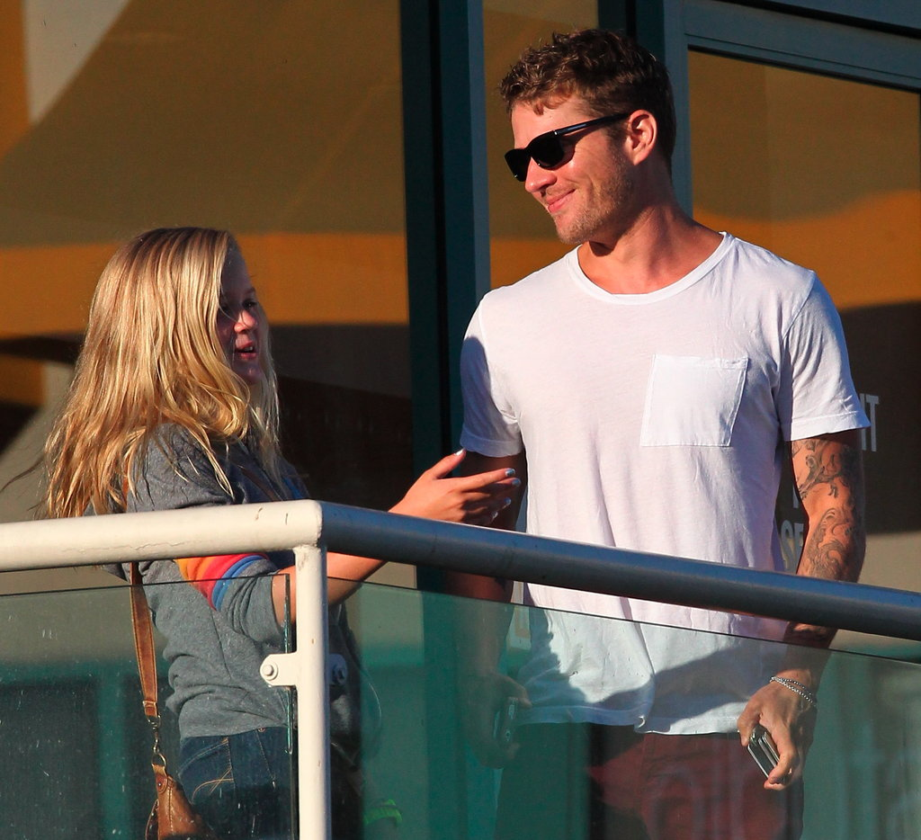 Ryan Phillippe hung out in LA with his daughter.
