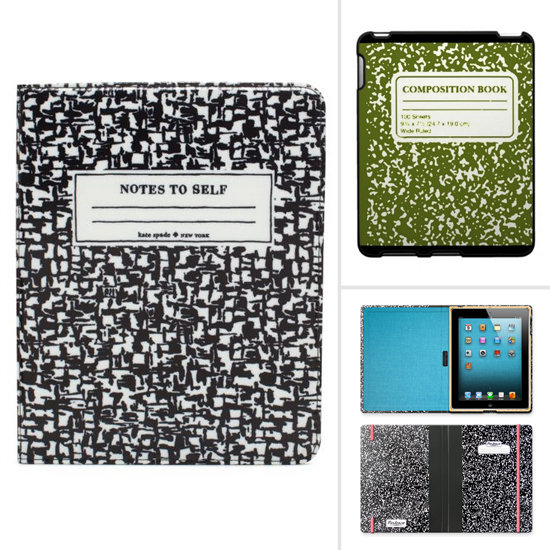 Channel a Back-to-School Vibe With These Composition-Book Cases
