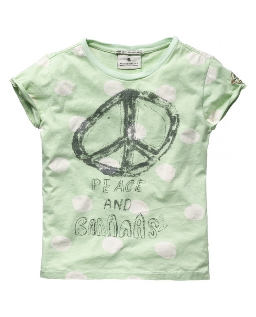 Scotch R´belle Peace and Bananas Tee ($48)