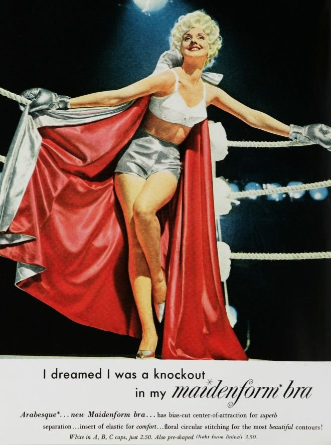 I, too, dreamed I was a knockout.