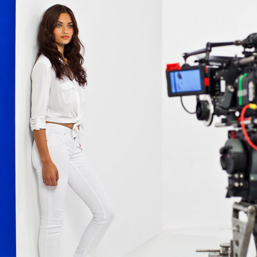First Look at Shanina Shaik for Just Jeans Spring Summer 2012 Campaign: We Chat Exclusively to the Victoria's Secret Supermodel