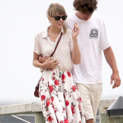 Taylor Swift Wearing Floral Skirt