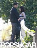 Kristen Stewart met up with Rupert Sanders in LA.