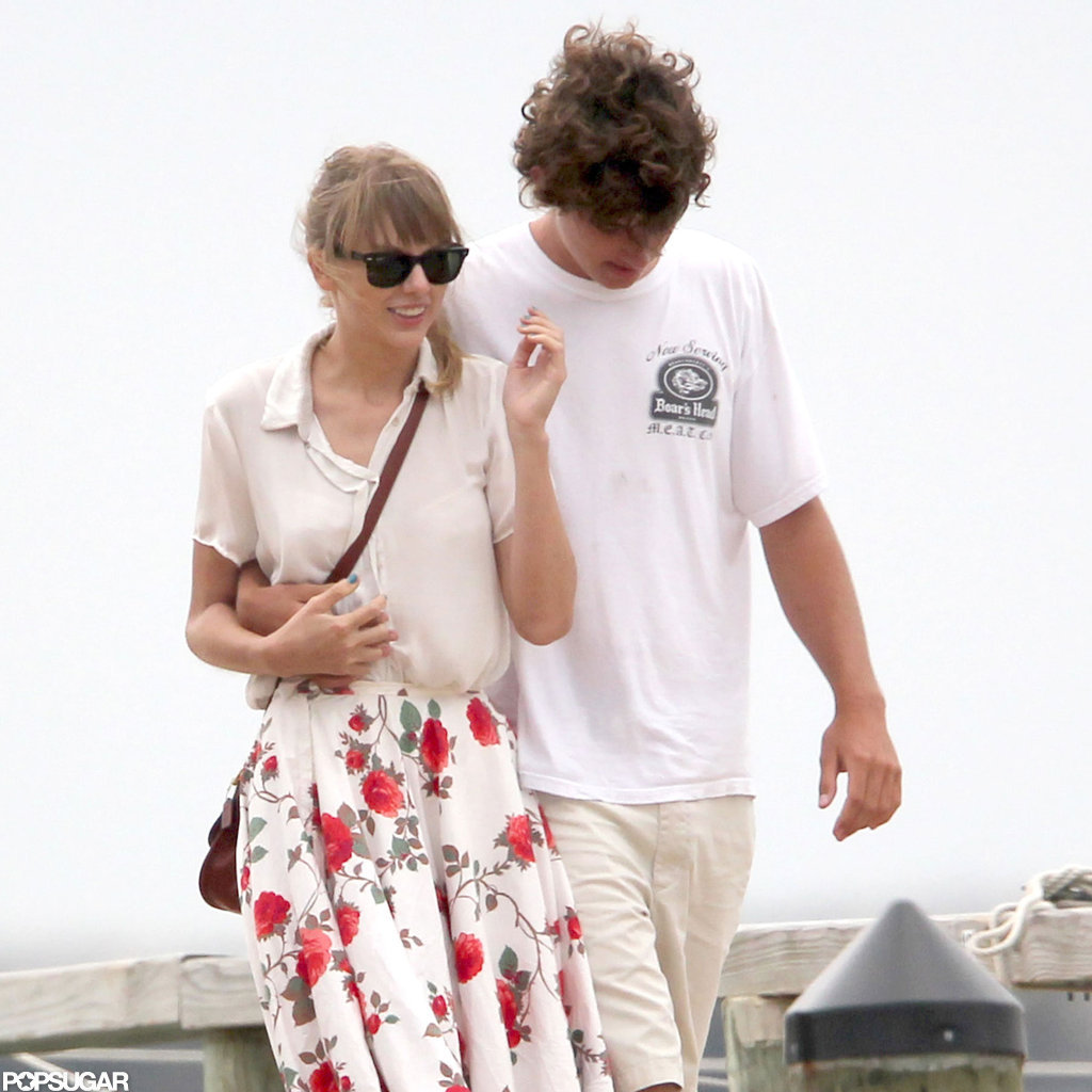 Conor Kennedy had his arm around Taylor Swift.