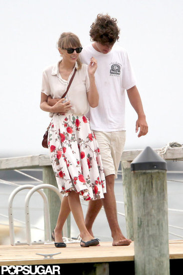Taylor Swift Holds Hands With Conor Kennedy in Hyannis Port