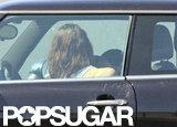 Rupert Sanders showed Kristen Stewart affection.