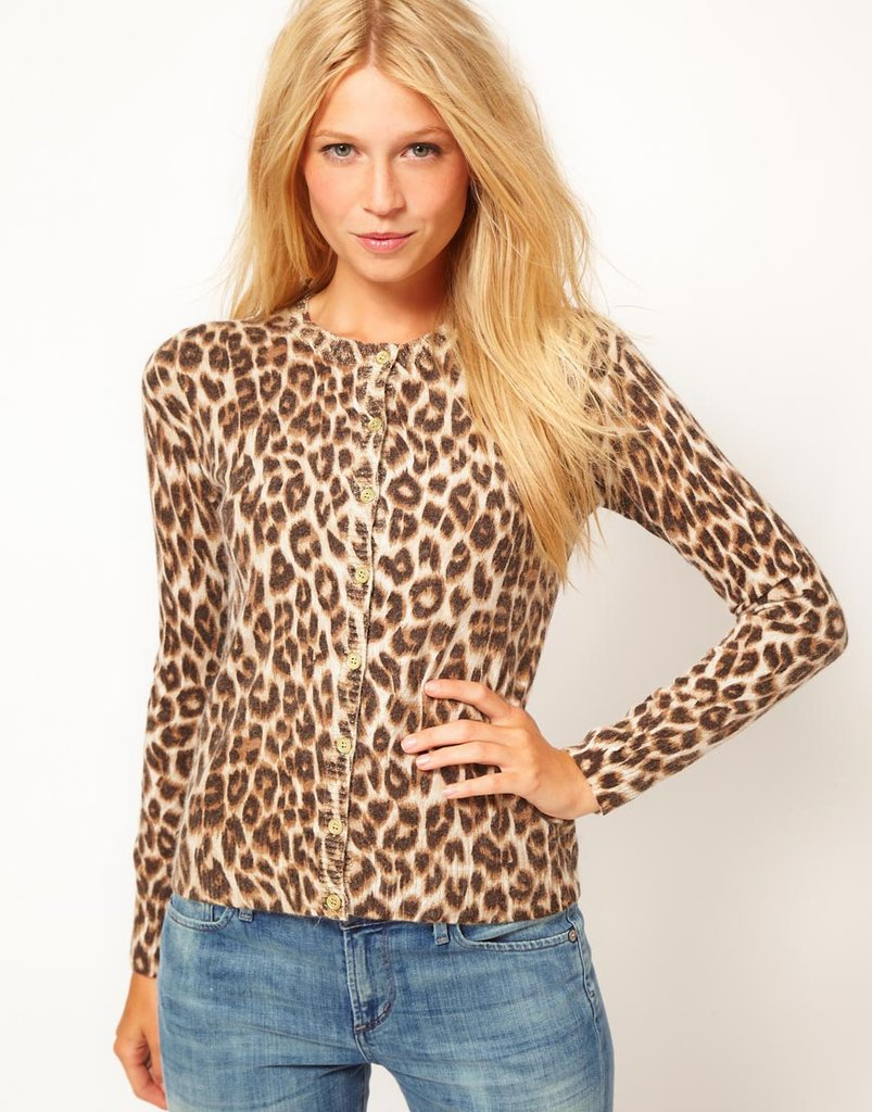 Our wardrobe wouldn't be complete without a dose of leopard print. We love that this one's just a little more demure, thanks to a cardigan silhouette. Oasis Animal Print Cardigan ($75)
