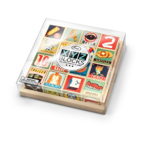 XYZ Alphabet Blocks ($31)
