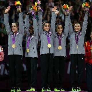 US Women's Gymnastics at Olympics Team Final | Pictures