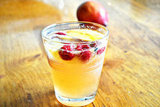Stone Fruit and Raspberry Sangria