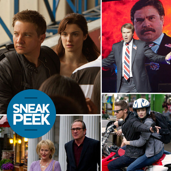 Movie Sneak Peek: The Bourne Legacy, The Campaign, Hope Springs