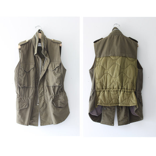 Club Monaco&#039;s Repurposed Vintage Military Jackets