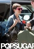 Anne Hathaway and Adam Shulman Look Loved Up After a Flight