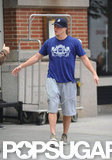 Channing Hits NYC as Wife Jenna Shoots With Adam Levine