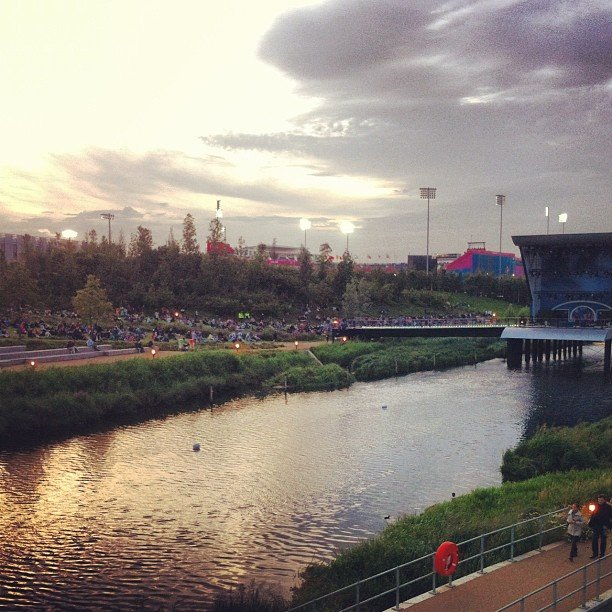 A gorgeous view of London's British Airways Park.  Source: Twitter user ian_sager