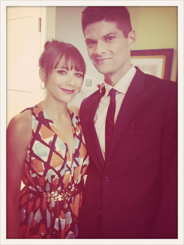 Rashida Jones and Will McCormack stepped out together for the NYC premiere of their film Celeste and Jesse Forever. Source: Twitter user iamrashidajones