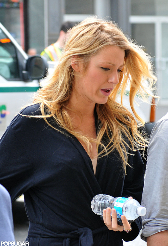 Blake Lively and Leighton Meester Return to NYC For Gossip Girl