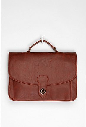 Nothing says class and dedication to your schoolwork like a boxy structured satchel. We love the deep cognac hue of this one; it'll go with everything. BDG Luxembourg Satchel ($59)