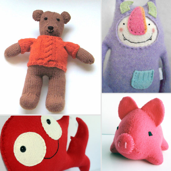 Handmade Stuffed Animals That Will Make Your Heart Melt